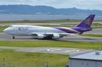 amagoさんが、関西国際空港で撮影したタイ国際航空 747-4D7の航空フォト(写真)