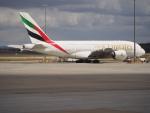 ken1☆MYJさんが、メルボルン空港で撮影したエミレーツ航空 A380-861の航空フォト(写真)