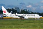 Tomo-Papaさんが、成田国際空港で撮影した日本航空 737-846の航空フォト(写真)