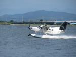 JA655Jさんが、中海で撮影したせとうちSEAPLANES Kodiak 100の航空フォト(写真)