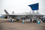 チャッピー・シミズさんが、フェアフォード空軍基地で撮影したイギリス空軍 F-35 Lightning II mock-upの航空フォト(写真)