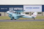 チャッピー・シミズさんが、フェアフォード空軍基地で撮影したScillonia Airways Ltd DH.89A Dragon Rapideの航空フォト(写真)