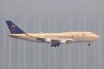 YASKYさんが、香港国際空港で撮影したサウジアラビア航空 747-412(SF)の航空フォト(写真)
