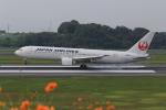ぽんさんが、高松空港で撮影した日本航空 767-346/ERの航空フォト(写真)