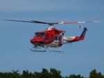 ここはどこ?さんが、朝日航洋札幌航空支社石狩基地で撮影した札幌市消防局消防航空隊 412SPの航空フォト(写真)