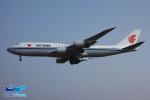 YuukiToonoさんが、北京首都国際空港で撮影した中国国際航空 747-89Lの航空フォト(写真)
