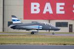チャッピー・シミズさんが、フェアフォード空軍基地で撮影したフィンランド空軍 BAe Hawk 51Aの航空フォト(写真)
