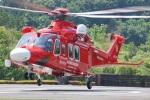 w_h1011さんが、秩父防災基地で撮影した埼玉県防災航空隊 AW139の航空フォト(写真)