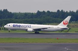 こだしさんが、成田国際空港で撮影した日本航空 767-346/ERの航空フォト(写真)