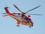 ここはどこ?さんが、朝日航洋札幌航空支社石狩基地で撮影した札幌市消防局消防航空隊 AW139の航空フォト(写真)