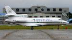 航空見聞録さんが、名古屋飛行場で撮影したナイジェリア空軍 Falcon 900の航空フォト(写真)