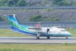 tabi0329さんが、長崎空港で撮影したオリエンタルエアブリッジ DHC-8-201Q Dash 8の航空フォト(写真)
