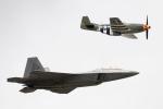 チャッピー・シミズさんが、フェアフォード空軍基地で撮影したアメリカ空軍 F-22A Raptorの航空フォト(写真)