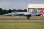 チャッピー・シミズさんが、フェアフォード空軍基地で撮影したスペイン空軍 F/A-18 Hornetの航空フォト(写真)