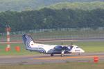 masakazuさんが、新千歳空港で撮影したオーロラ DHC-8-200Q Dash 8の航空フォト(写真)
