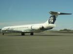 KOMAKIYAMAさんが、テッドスティーブンズ・アンカレッジ国際空港で撮影したアラスカ航空 MD-83 (DC-9-83)の航空フォト(写真)
