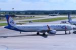 こじゆきさんが、ドモジェドヴォ空港で撮影したウラル航空 A321-231の航空フォト(写真)
