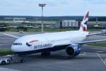 こじゆきさんが、ドモジェドヴォ空港で撮影したブリティッシュ・エアウェイズ 777の航空フォト(写真)
