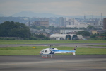 ja0hleさんが、名古屋飛行場で撮影した中日本航空 AS355F2 Ecureuil 2の航空フォト(写真)