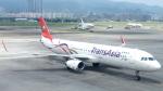 誘喜さんが、台北松山空港で撮影したトランスアジア航空 A321-231の航空フォト(写真)