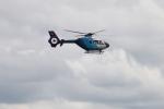 カンタさんが、名古屋飛行場で撮影した中日新聞社 EC135P2の航空フォト(写真)