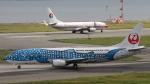 Cassiopeia737さんが、関西国際空港で撮影した日本トランスオーシャン航空 737-4Q3の航空フォト(写真)