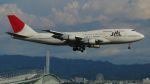 航空見聞録さんが、関西国際空港で撮影した日本航空 747-346の航空フォト(写真)