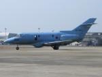 かしまかぜさんが、名古屋飛行場で撮影した航空自衛隊 U-125A(Hawker 800)の航空フォト(写真)
