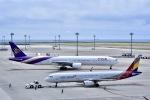 takamaruさんが、中部国際空港で撮影したタイ国際航空 777-3D7の航空フォト(写真)