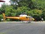 JA655Jさんが、神石高原で撮影したオールラウンドヘリコプター AS350B Ecureuilの航空フォト(写真)