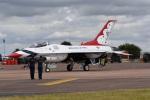 nobu2000さんが、フェアフォード空軍基地で撮影したアメリカ空軍 F-16 Fighting Falconの航空フォト(写真)