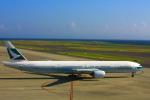 きったんさんが、中部国際空港で撮影したキャセイパシフィック航空 777-367の航空フォト(写真)