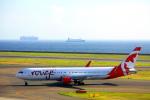 きったんさんが、中部国際空港で撮影したエア・カナダ・ルージュ 767-333/ERの航空フォト(写真)