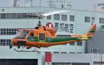 Soraya_Projectさんが、東京ヘリポートで撮影したアカギヘリコプター 204B-2(FujiBell)の航空フォト(写真)