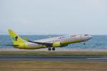 なないろさんが、北九州空港で撮影したジンエアー 737-8B5の航空フォト(写真)