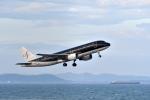 なないろさんが、北九州空港で撮影したスターフライヤー A320-214の航空フォト(写真)