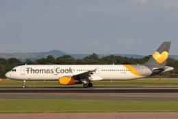 安芸あすかさんが、マンチェスター空港で撮影したトーマスクック・エアラインズ A321-231の航空フォト(写真)