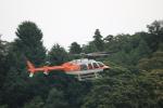 msrwさんが、ホンダエアポートで撮影した新日本ヘリコプター 407の航空フォト(写真)