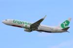 安芸あすかさんが、パリ オルリー空港で撮影したトランサヴィア・フランス 737-8K2の航空フォト(写真)