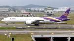 誘喜さんが、クアラルンプール国際空港で撮影したタイ国際航空 777-3AL/ERの航空フォト(写真)