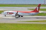 amagoさんが、関西国際空港で撮影したティーウェイ航空 737-8ASの航空フォト(写真)