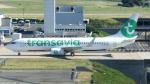 誘喜さんが、パリ オルリー空港で撮影したトランサヴィア・フランス 737-8K2の航空フォト(写真)