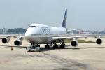 KAW-YGさんが、北京首都国際空港で撮影したユナイテッド航空 747-422の航空フォト(写真)