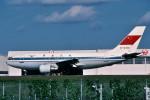トロピカルさんが、成田国際空港で撮影した中国民用航空局 A310-222の航空フォト(写真)
