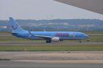 ちかぼーさんが、パリ シャルル・ド・ゴール国際空港で撮影したジェットエアフライ 737-8K5の航空フォト(写真)