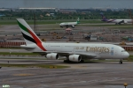 妄想竹さんが、スワンナプーム国際空港で撮影したエミレーツ航空 A380-861の航空フォト(写真)