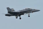 うめやしきさんが、厚木飛行場で撮影したアメリカ海兵隊 F/A-18D Hornetの航空フォト(写真)