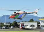 パンサーRP21さんが、群馬ヘリポートで撮影した茨城県防災航空隊 BK117C-2の航空フォト(写真)
