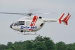 w_h1011さんが、群馬ヘリポートで撮影した朝日航洋 BK117C-2の航空フォト(写真)