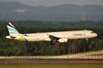 にしやんさんが、新千歳空港で撮影したエアプサン A321-231の航空フォト(写真)